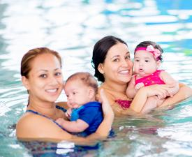 infant swim lessons, toddler swim lessons, preschool swim lessons
